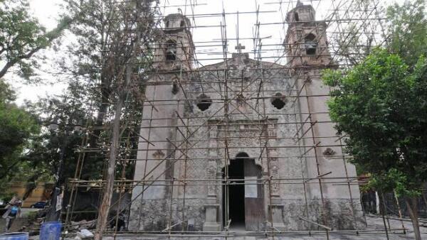 Conaculta restaura La Conchita, en Coyoac�n
