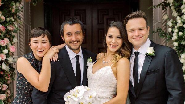 Cody Williams se casó con su novia, María Flores,