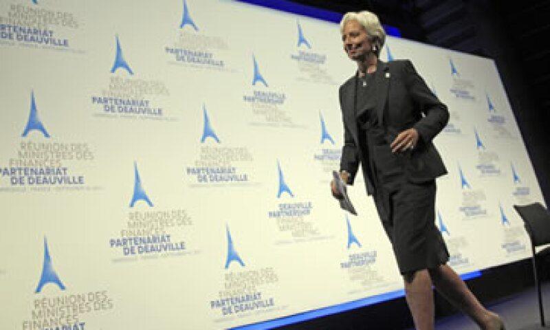 Christine Lagarde asistió a una reunión ministerial de Grupo de las Siete naciones más desarrolladas en la localidad francesa de Marsella. (Foto: Reuters)