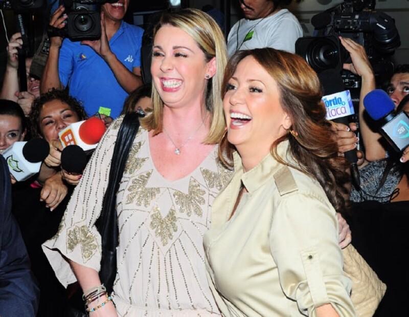 Atala Sarmiento y Andrea Legarreta vivieron momentos de tensión cuando los medios exageraron un problema entre ambas a raiz de un comentario de la conductora de TV Azteca.