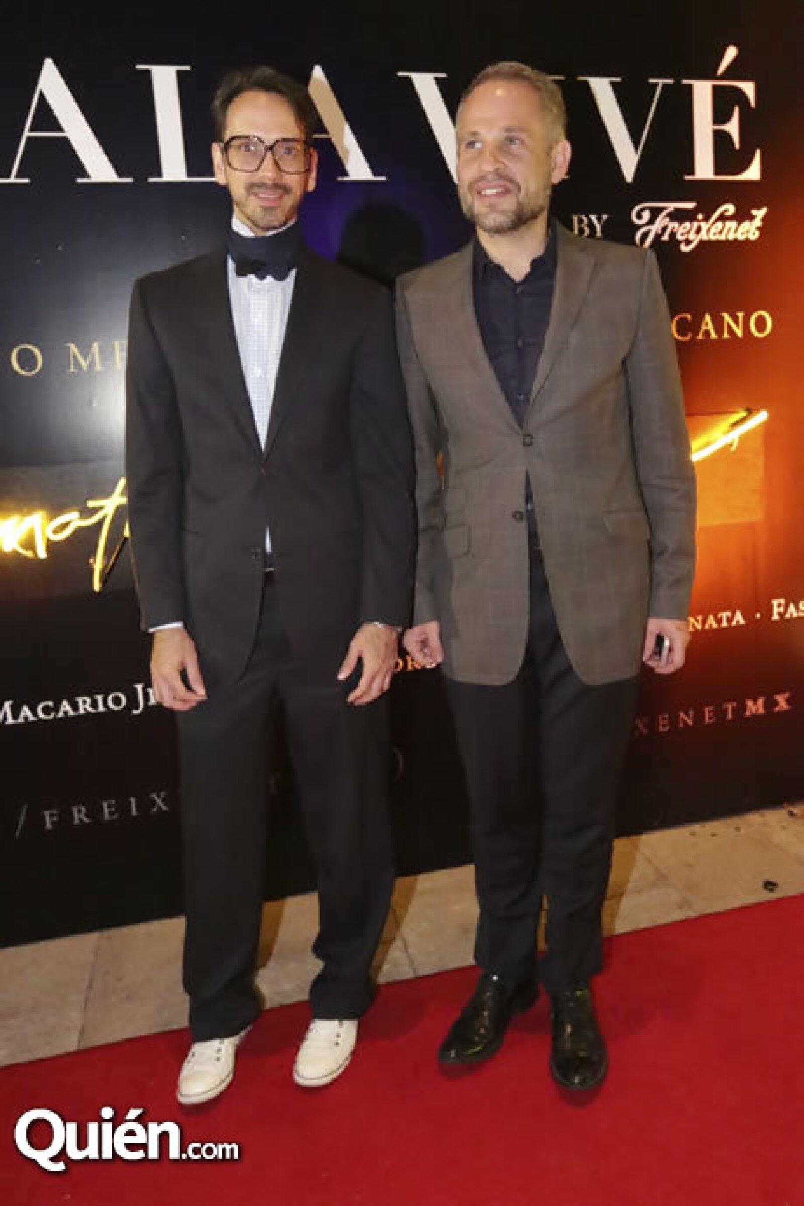 Macario Jiménez y Fernando Raphael