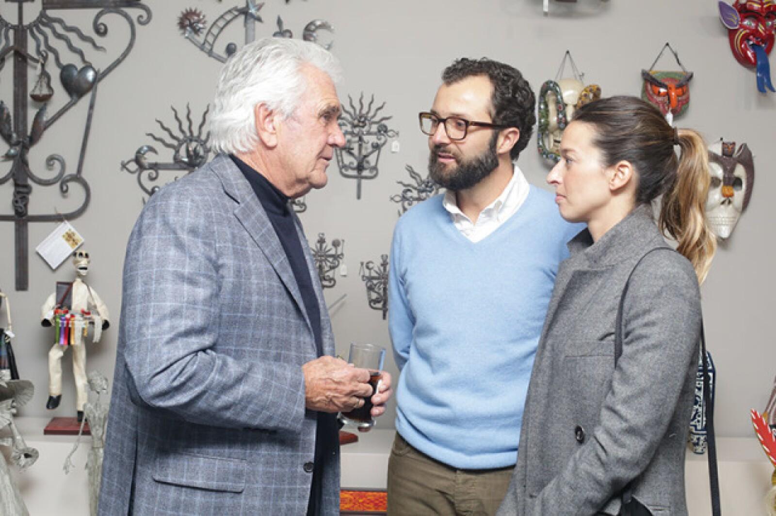 Carlos Herrera,Eduardo y Alejandra Canales