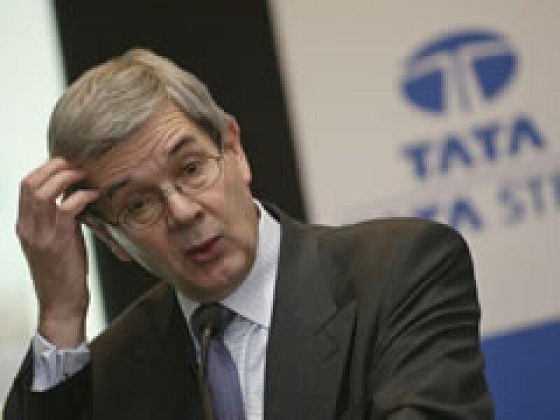 Varin orquestó la venta de la acerera británica a Tata Steel de la India por 11,300 mdd hace tres años. (Foto: AP)