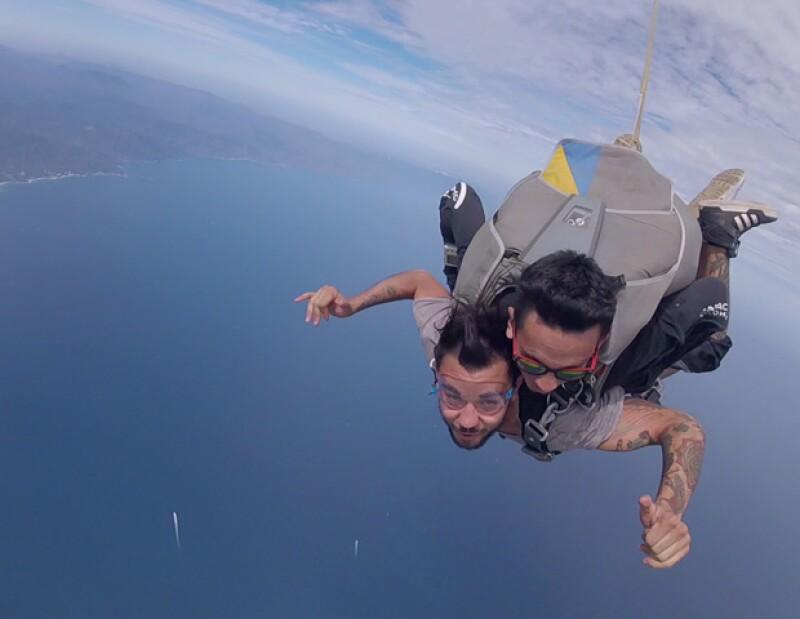 Acompañamos a Diego y YosStop en una aventura de altura y mucha adrenalina.