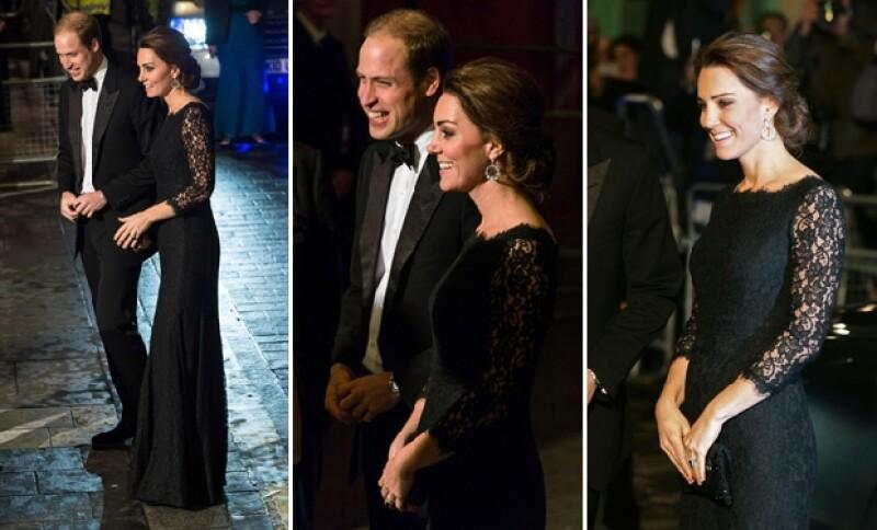 De la manera más elegante, la duquesa de Cambridge resalta su maternidad con un vestido de Diane Von Furstenberg durante la reunión anual de la monarquía británica.