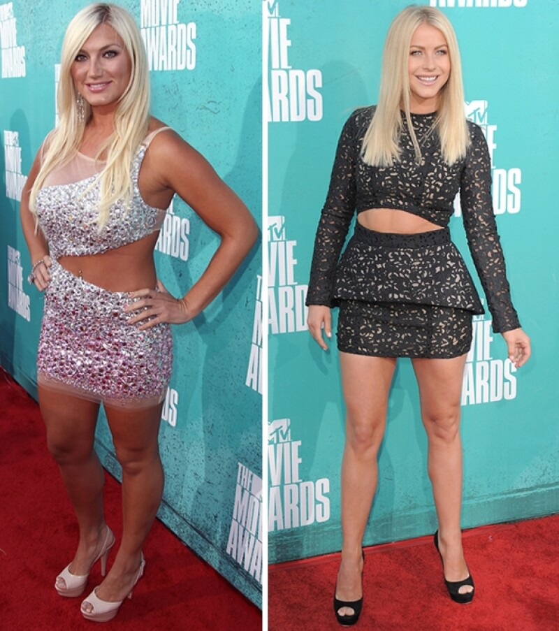 Brooke Hogan, Jualianne Hough