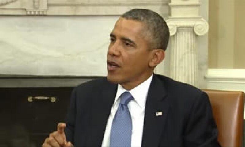 El presidente Barack Obama dijo que el presidente de la Cámara de Representantes impide la reactivación del Gobierno. (Foto: Archivo)