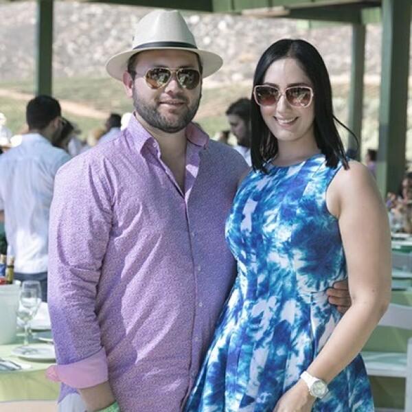 Carlos Pereira y Mariel Nuño