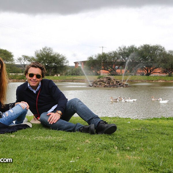 Michelle Torres y Mateo Gorina
