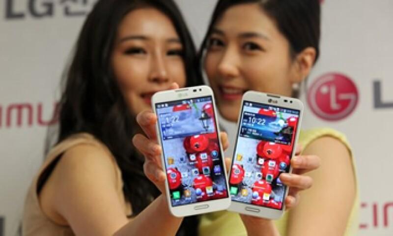 Optimus G Pro, el nuevo teléfono de LG, funcionará con el sistema operativo Android. (Foto: AP)