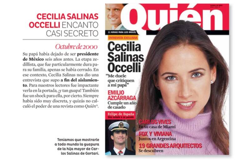 Ceci Salinas nos abrió su corazón.