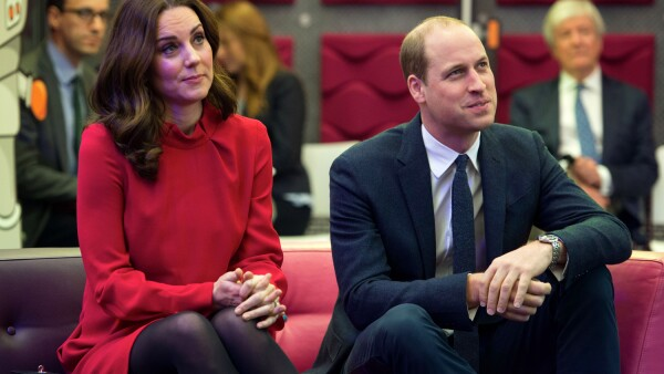 Los Duques de Cambridge, William y Kate.
