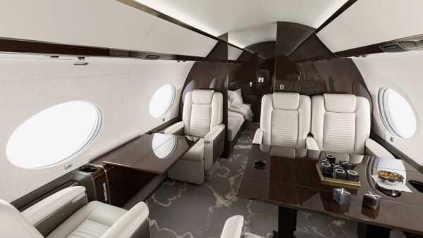 Alcance del Gulfstream