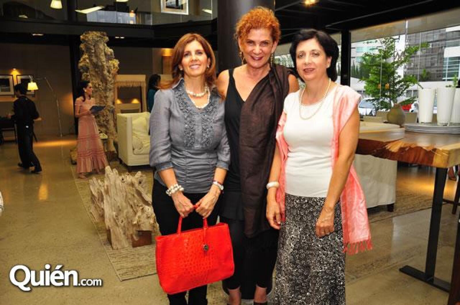 Isabel Iturbide,Marisol Tafich,Patricia Álvarez
