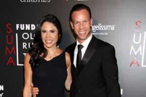"""Paola Rojas y su esposo, el reconocido ex futbolista conocido como """"Zague""""."""