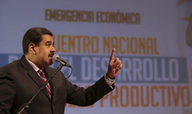 Maduro decretó un estado de emergencia económica para Venezuela la semana pasada. (Foto: Reuters)