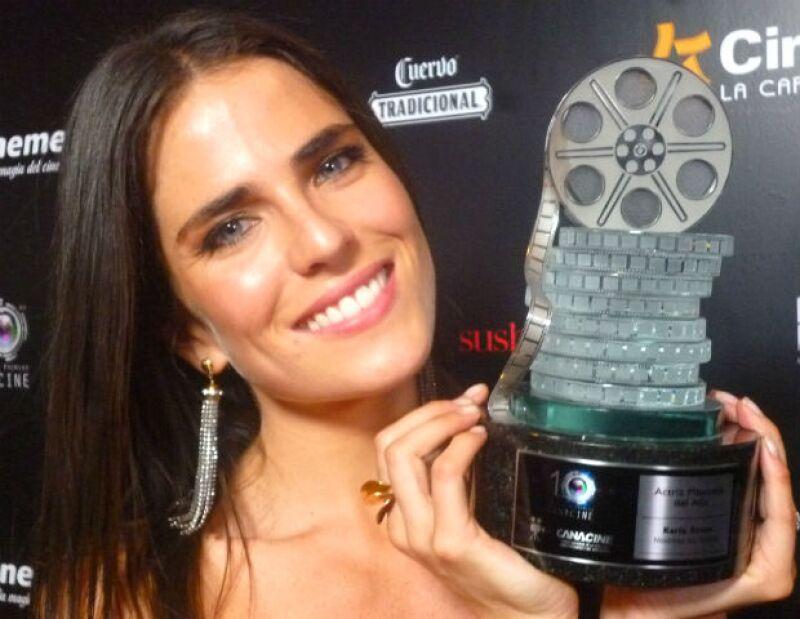"""La actriz mexicana se prepara para protagonizar, junto a la nominada al Oscar, el thriller de la cadena ABC """"How to get away with murder""""."""