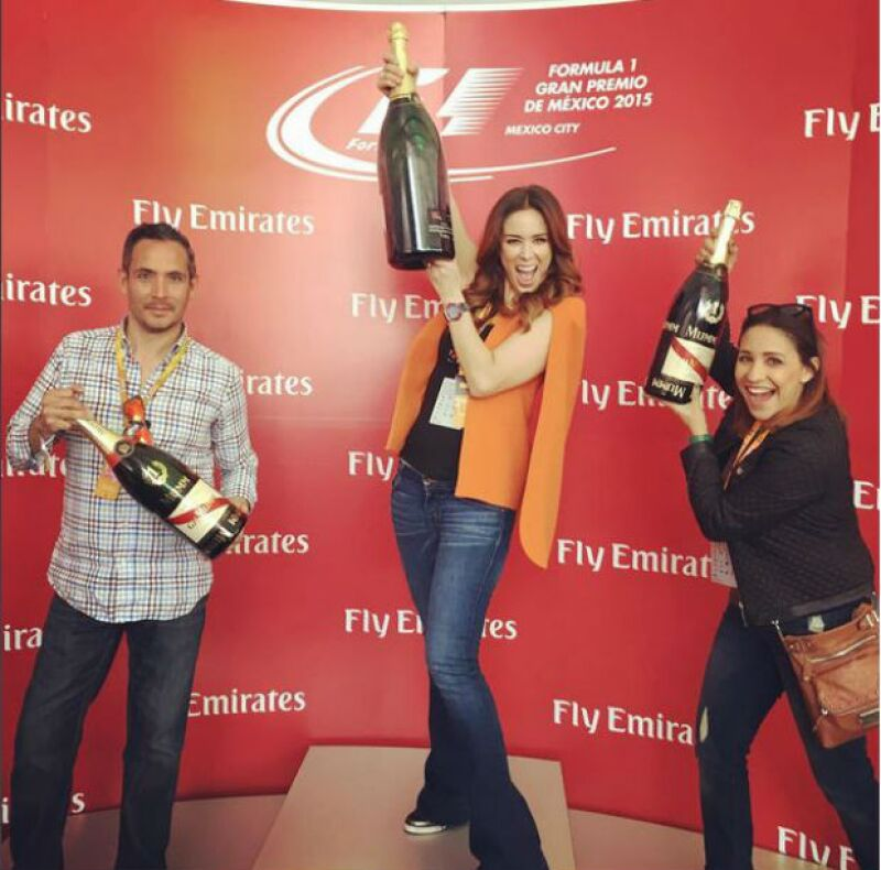 Y la ganadora de Fórmula 1 es... Jacky.