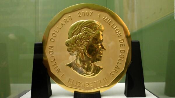 Roban una moneda de oro de 100 kilogramos en Berlín