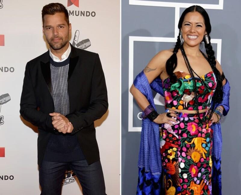 Junto con Gloria Estefan y Marco Antonio Solís, los cantantes fueron invitados por Barack Obama para participar en un concierto, en el marco de la celebración del Mes de la Herencia Hispana.