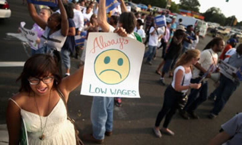 Walmart ha sido uno de los principales blancos para las protestas por los bajos salarios. (Foto: Getty Images)