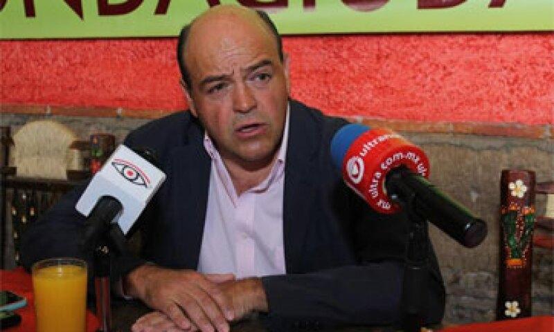 Jaime del Conde Ugalde aceptó la decisión y admitió su error al pretender registrarse de forma extemporánea. (Foto: Claudia Castro )