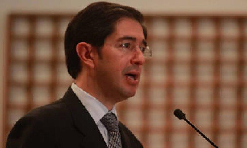 El secretario de Comunicaciones y Transportes, Dionisio Pérez-Jácome, refrendó el pleno respeto del Gobierno Federal a la libertad de expresión. (Foto: Notimex)