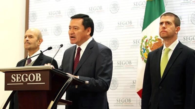 Alfredo Castillo es nombrado comisionado para Michoacan