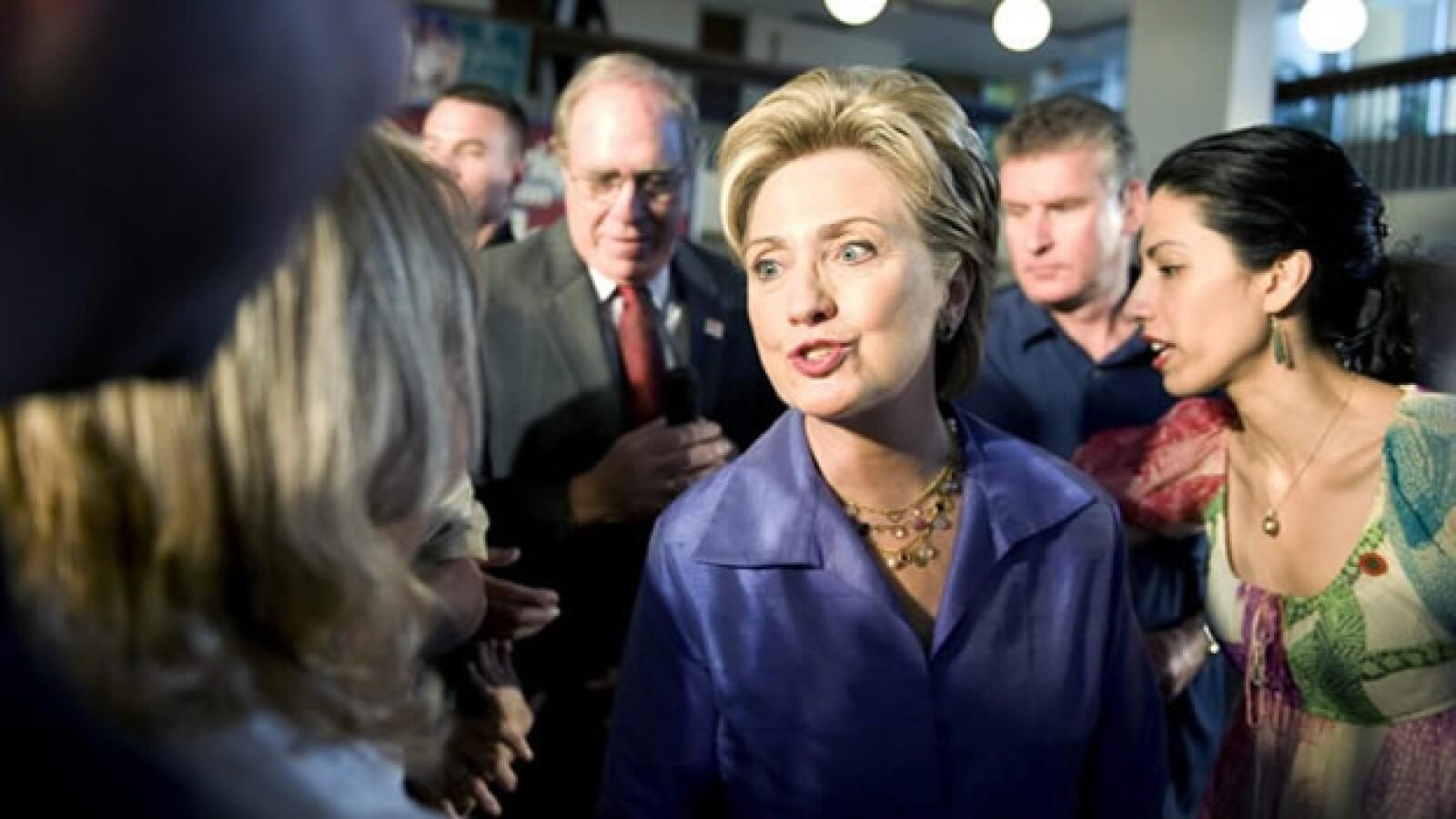 Huma Abedin - campaña presidencial Clinton