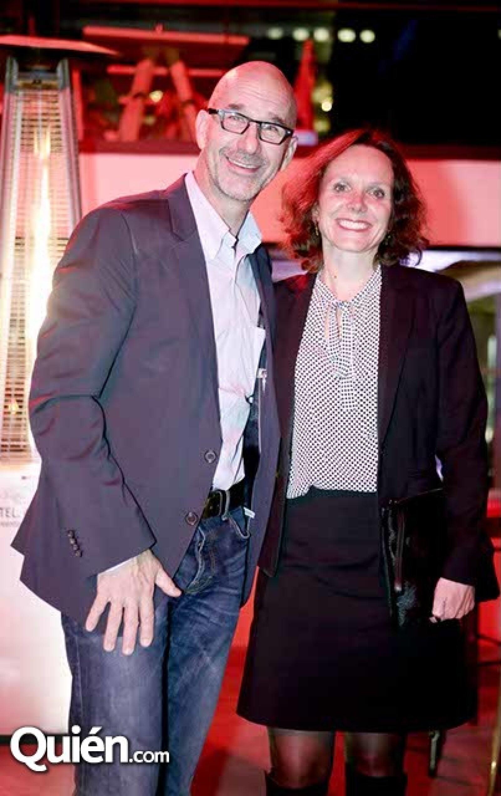 Joshua Boristein y Stephanie Mallet
