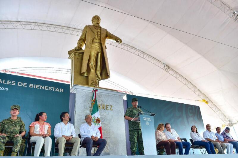 AMLO en Minatitlán
