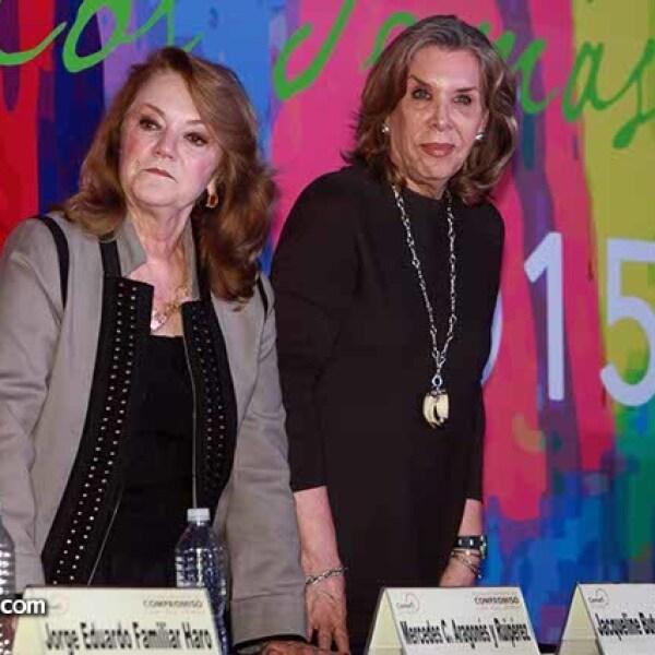 Mercedes Aragonés y Jaqueline Butcher