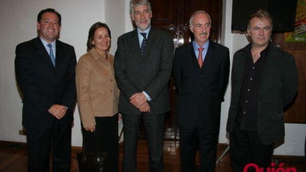 Gustavo Lara, Segelene Paxman, Gilles Paxman, Miguel Sánchez Navarro, David Huxtable