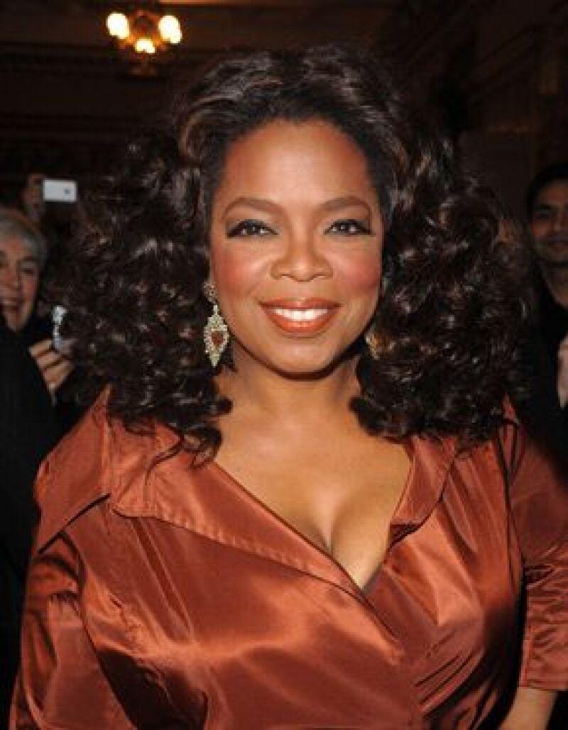 La presentadora encabeza la lista de las mujeres más poderosas en la industria del espectáculo.