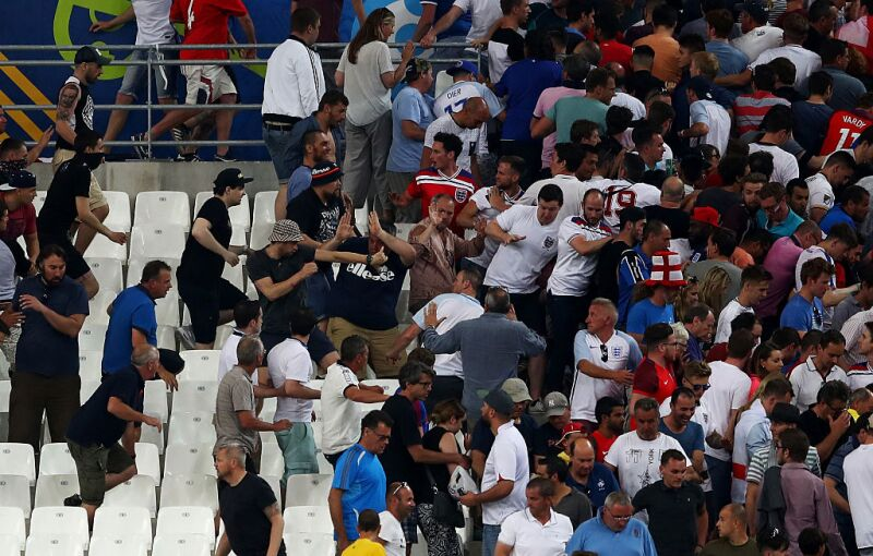 La Euro 2016 vivió episodios tensos de violencia.
