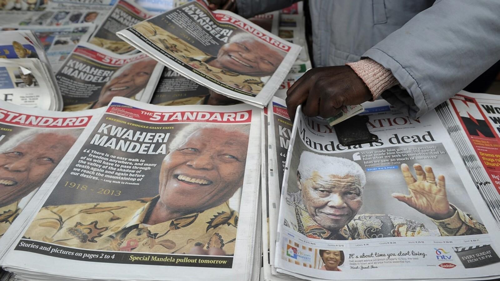 Nelson Mandela periódicos Kenya