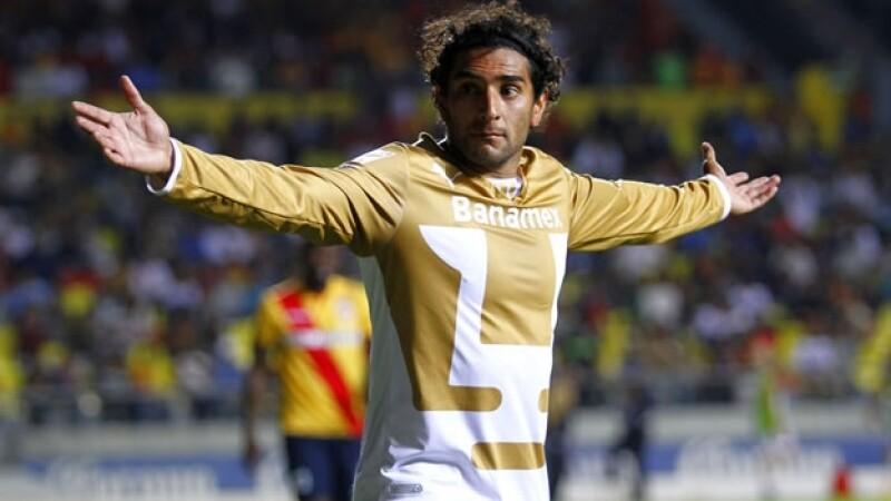 Martín Bravo tuvo uno de sus mejores años como delantero en Pumas pero fue transferido al bicampeón León