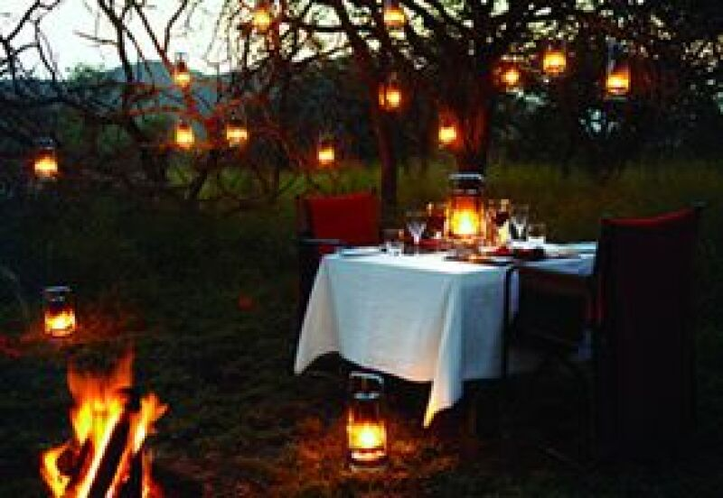 Escondite para aventureros en la selva sudafricana.