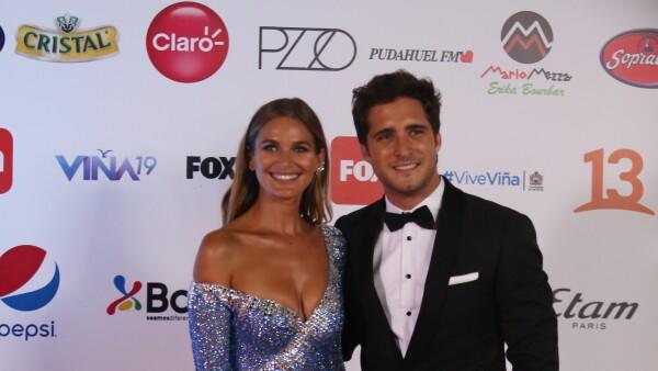 Diego Boneta y Mayte Rodríguez
