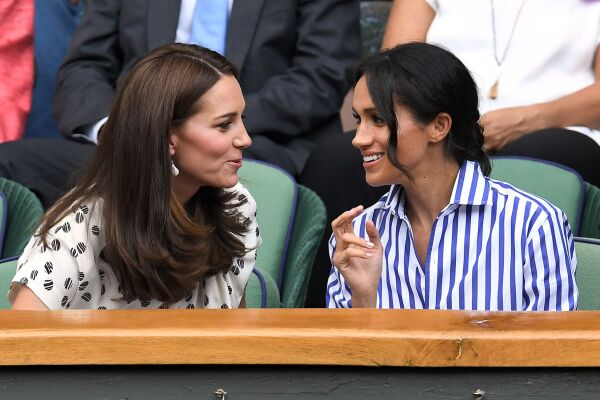Wimbledon Kate Middleton y Meghan Markle