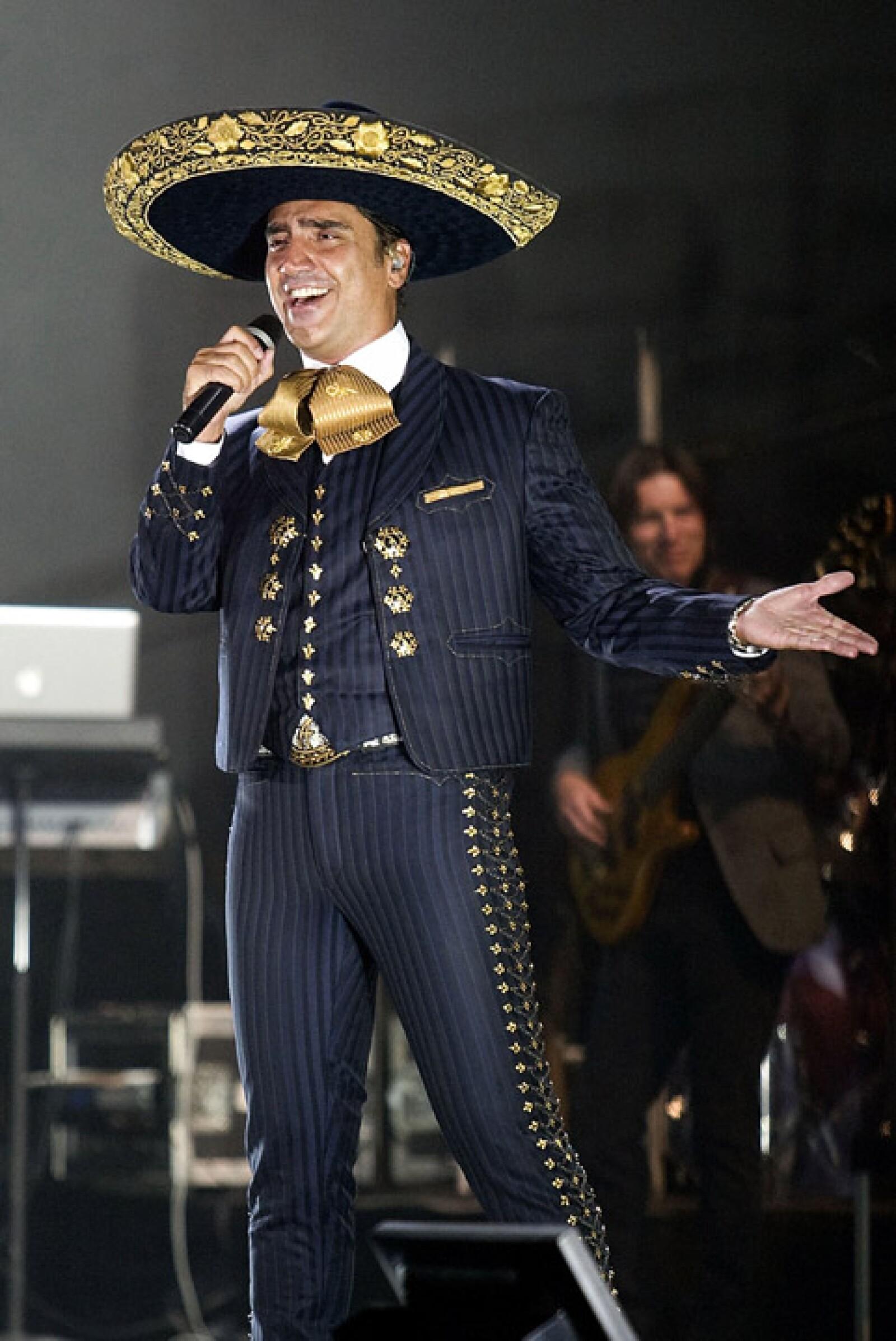 Durante uno de sus conciertos en 2012.