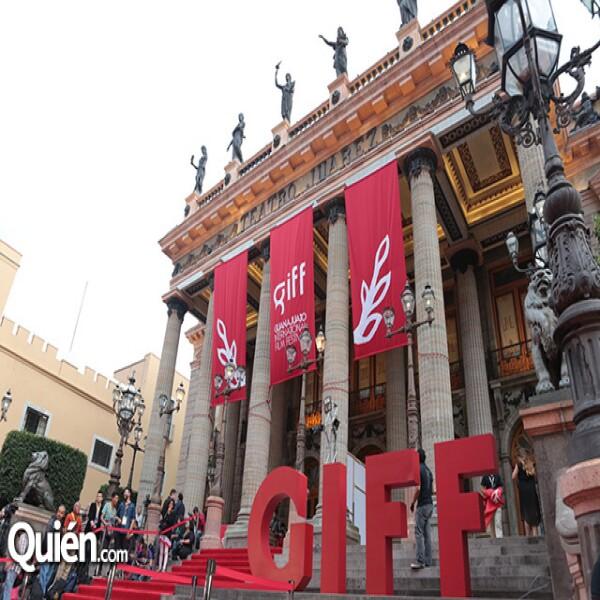Teatro Juárez, una de las sedes principales del GIFF.