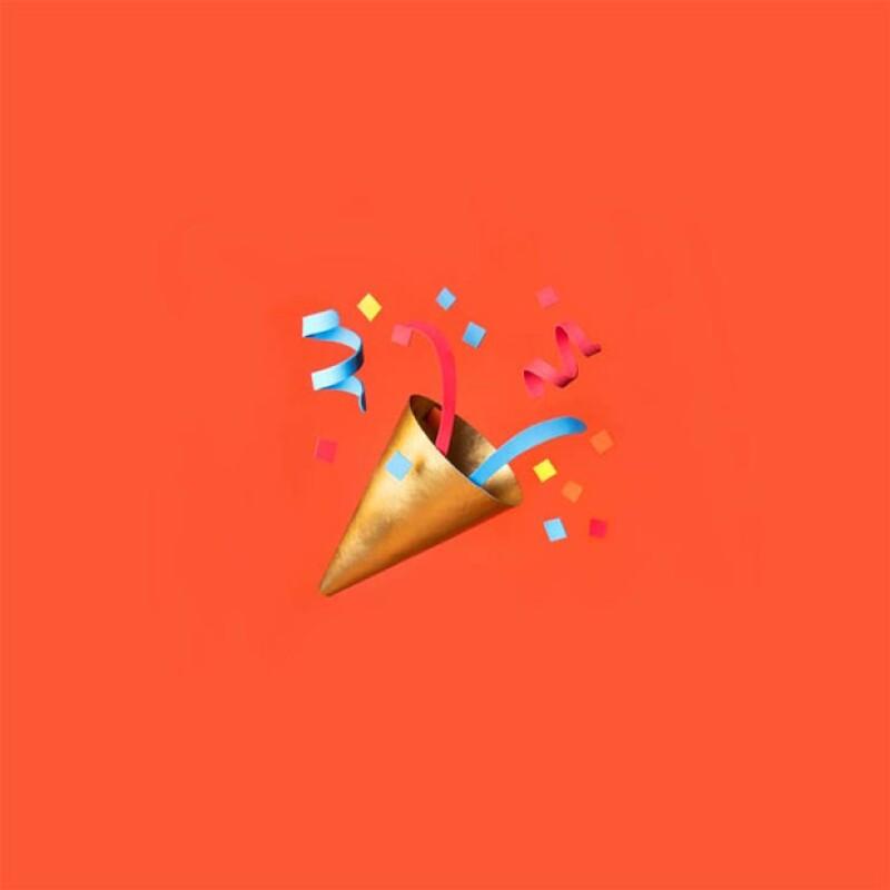 Hasta el gorrito de fiesta ha ilustrado.