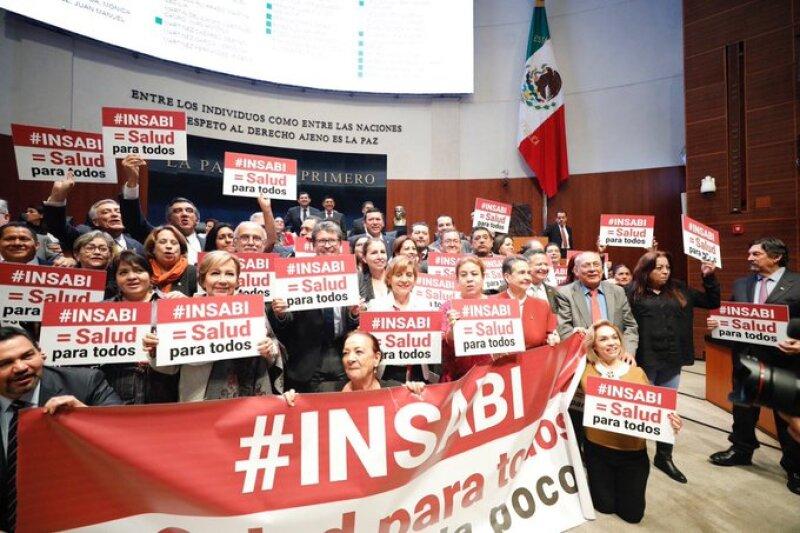 Resultado de imagen para la salud  Seguro Popular, Insabi