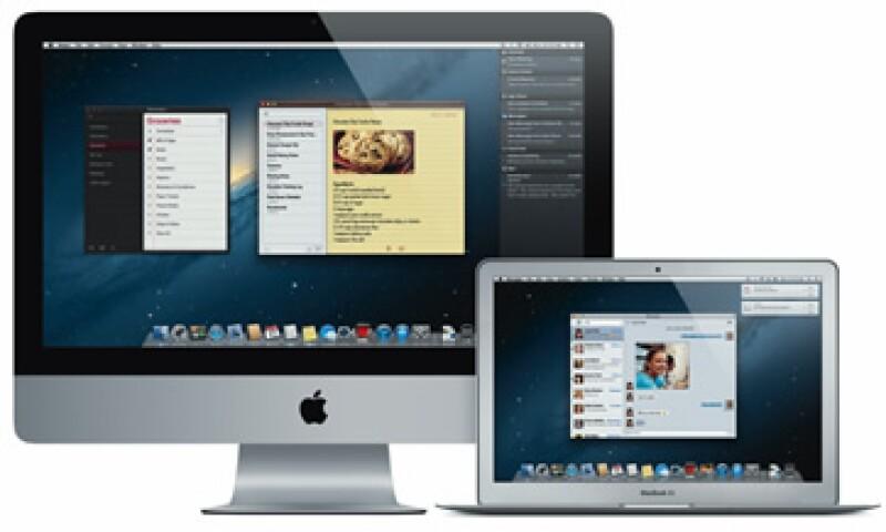 Esta primera versión del nuevo OS se presenta apenas siete meses después del lanzamiento del sistema Lion. (Foto: Cortesía Apple)