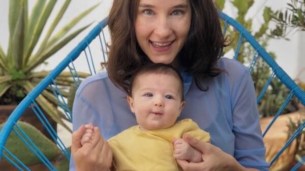 Ximena Sariñana y su primogénita, Franca