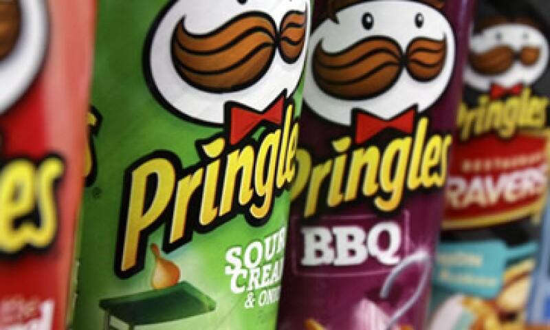 Pringles fabrica su producto en más de 80 sabores. (Foto: AP)