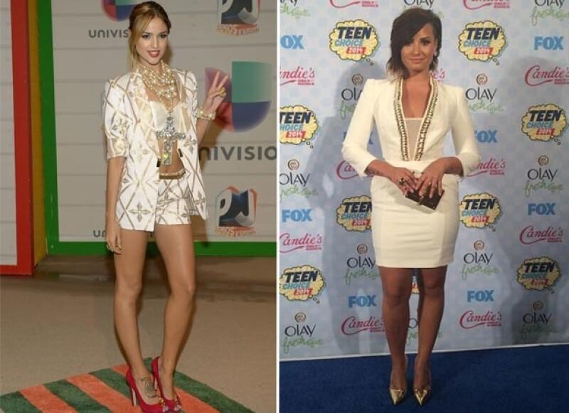 La actriz ha demostrado una vez más la buena amistad que comparte con la ex estrella Disney alabando su estilismo en la entrega de premios.