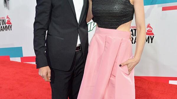 Erick Elías e Irena Azuela.
