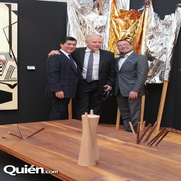 Jorge Nikaido, Axel Stein, José Luis Martín